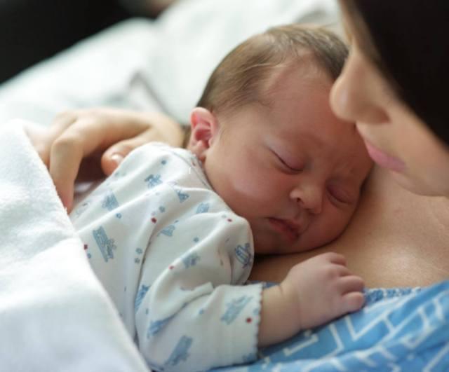 Adriana y bebe